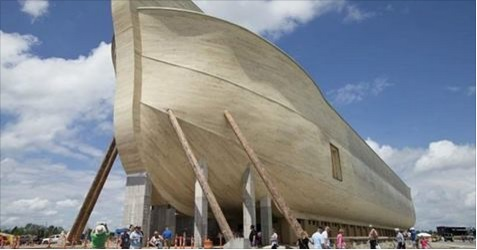ساخت بدل کشتی نوح