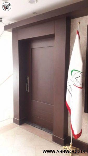 دکوراسیون چوب و ام دی اف اداره کل دارایی شمال تهران