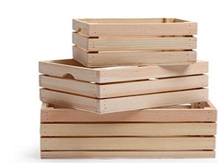 جعبه چوبی ساخته شده از چوب درخت انجیر