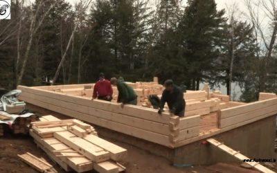 ایده هایی برای طراحی و ساخت خانه چوبی