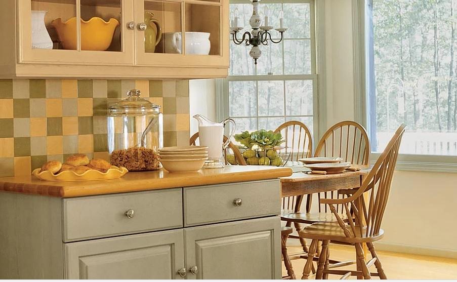 رنگ کابینت آشپزخانه