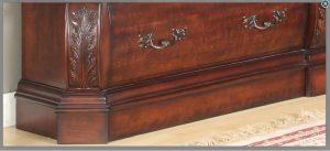 کتابخانه و قفسه های چوبی سبک کلاسیک ( عکس و ایده های جدید )