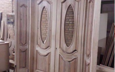 قیمت درب و چهارچوب سبک مدرن و ساده برج 8 1397