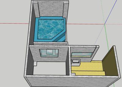 ایده های سونا و جکوزی داخل ساختمان