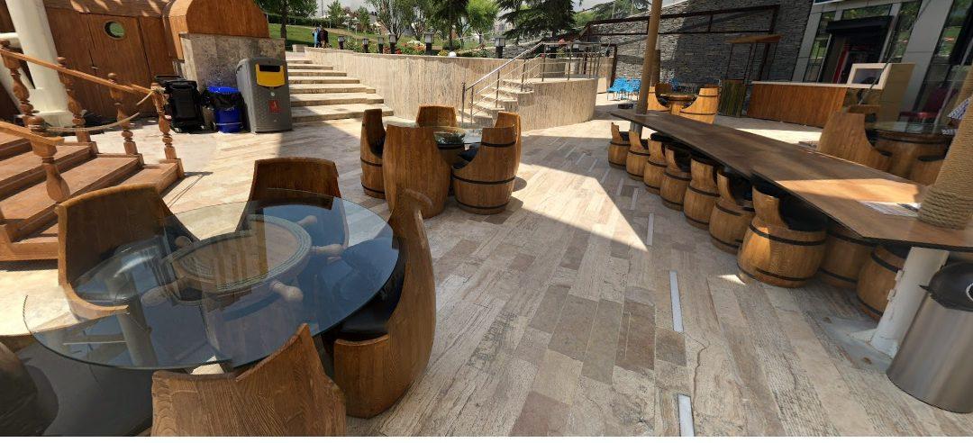 طراحی و ساخت دکوراسیون رستوران خاص و منحصر به فرد