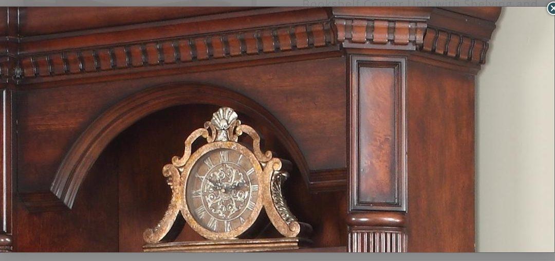 کتابخانه کلاسیک چوبی , ایده های جالب , طراحی و ساخت کتابخانه