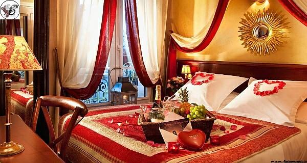 دکوراسیون اتاق خواب رومانتیک , تخت خواب رویایی