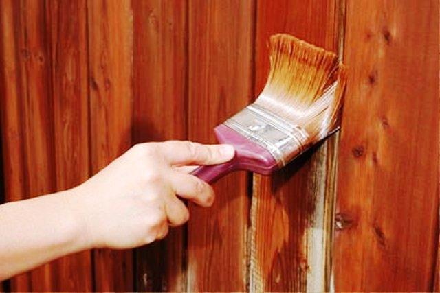 رنگکاری روی چوب