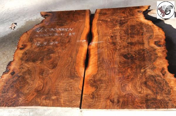 تخته و الوار و تنه درخت گردو , روکش و چوب گردو ، ریشه گردو