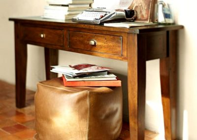 میز کنسول چوبی شیک