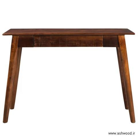 میز کنسول چوب طبیعی