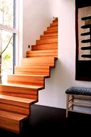 پلکان چوبی در معماری به سبک پلکان چوبی مدرن