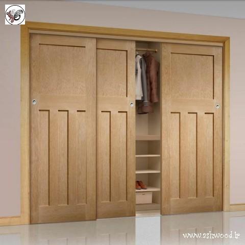درب چوبی کمد , درب کمدی , درب چوبی