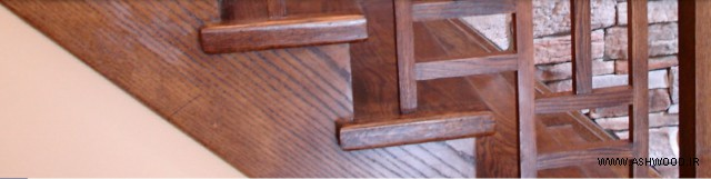 پله در دکوراسیون 2019 + تصاویر پله چوبی