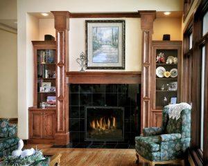 چوب کاری داخل خانه