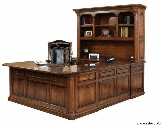 میز تحریر کتابخانه چوبی , میز تحریر کتابخانه دار نوجوان