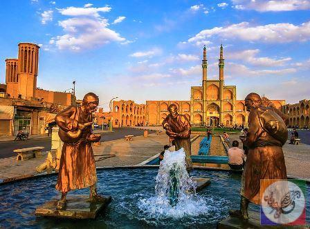 عکس یزد میدان امیر چخماق