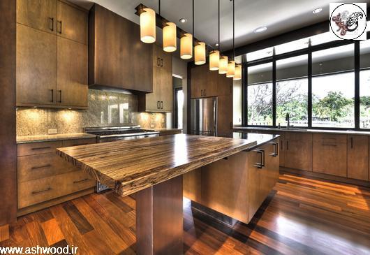چوب زیبای زبرانو در دکوراسیون داخلی