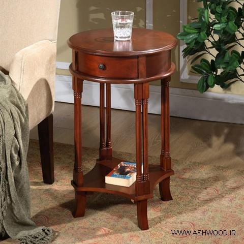 میز کنسول چوبی