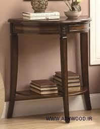 میز کنسول چوبی , انواع میز کنسول شیک و زیبا برای دکوراسیون منزل شما
