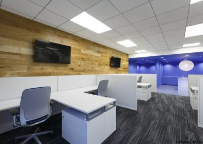 دکوراسیون دفتر مرکزی جدید ASICS America