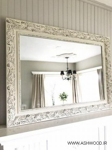 قاب آینه منبت سفارشی