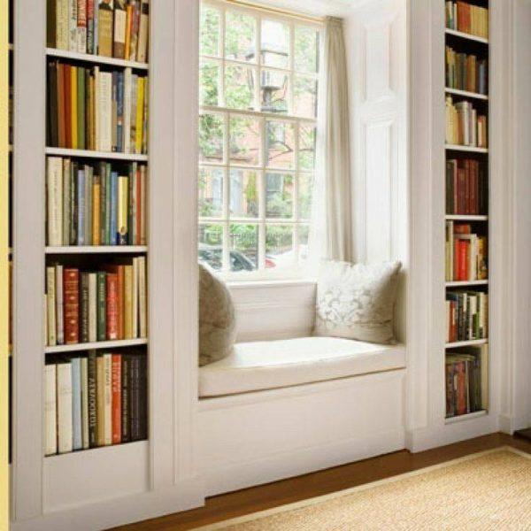 کتابخانه چوبی , قفسه چوبی , دکور و بوفه ویترین