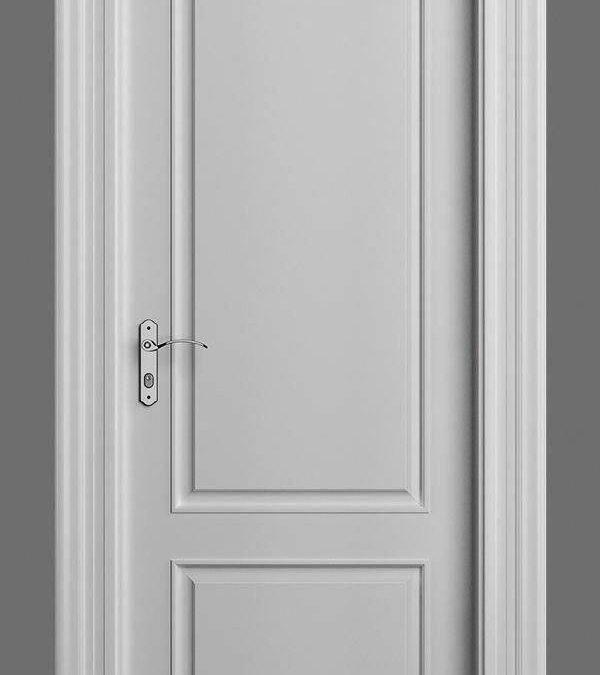 مدل و ایده در چوبی , ساخت درب چوبی اتاق رنگ سفید , درب اتاق خواب