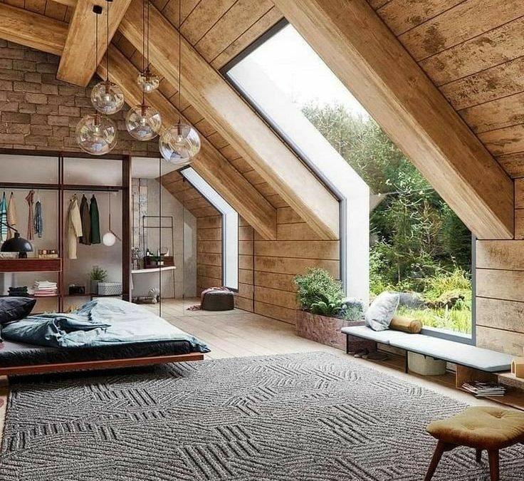 ایده و مدل نمای چوب بیرون و داخل ساختمان