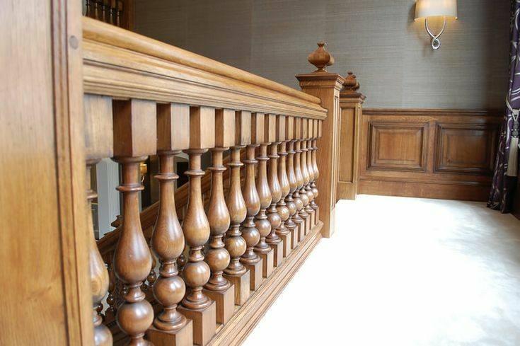 نرده راه پله چوبی آثار دست ساز لوکس و سفارشی