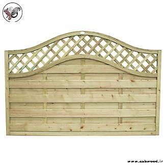 حصار چوبی٬ حصار دور باغ٬ فروش حصار باغچه٬ نرده باغ٬ نرده چوبی٬