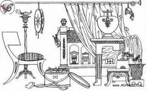تکامل طراحی مبلمان و تاریخچه مبلمان