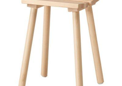 چهارپایه چوب بلوط