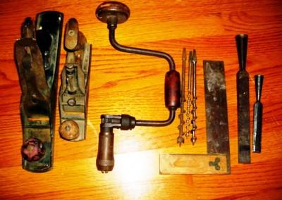 ابزار نجاری ، ابزار و وسایل قدیمی