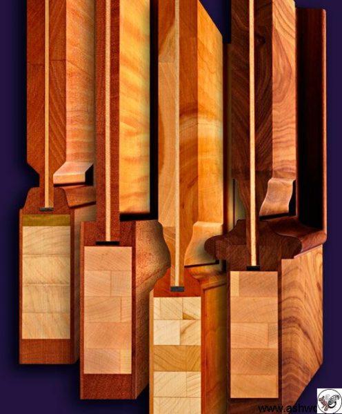 ساخت درب کابینت تمام چوب به روش lvl wood