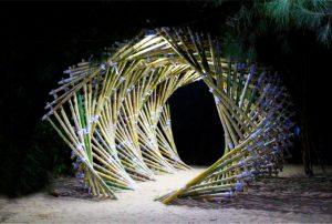 تونل بامبو ، دکوراسیون فضای باز ، پرگولا و آلاچیق تونل بامبو ، دکوراسیون فضای باز ، پرگولا و آلاچیق