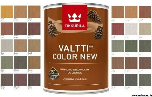 رنگ طبیعی و سازگار با محیط زیست تکوریلا مخصوص سونا و نمای ساختمان