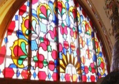 ساخت پنجره های سنتی چوب و شیشه رنگی ( اوج زیبایی و شادابی در معماری ایران زمین )