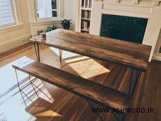 میز اسلب در دکوراسیون داخلی