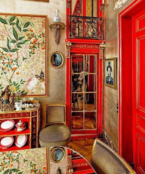 رنگ در دکوراسیون چوبی و دکوراسیون داخلی ساختمان