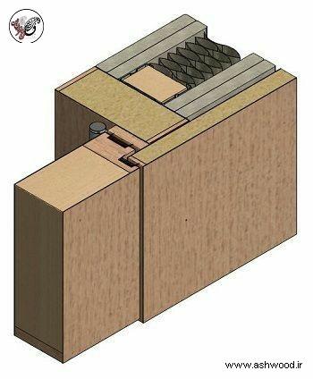 چهارچوب درب چوبی