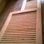 دکوراسیون چوبی دکوراسیون داخلی نمایشگاه دیوارکوب لمبه