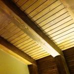 سقف چوبی ، سقف کاذب