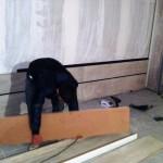 دکوراسیون چوبی کفپوش و دیوارکوب