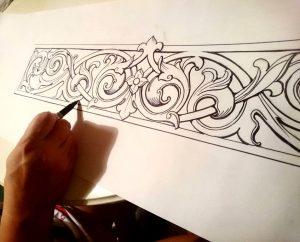 طراحی منبت برای دکوراسیون کلاسیک