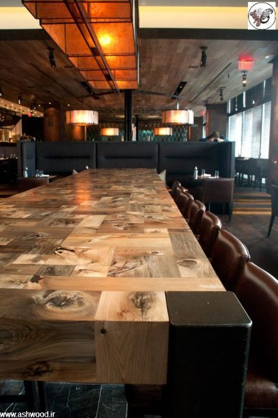 میز چوبی ، دکوراسیون چوبی