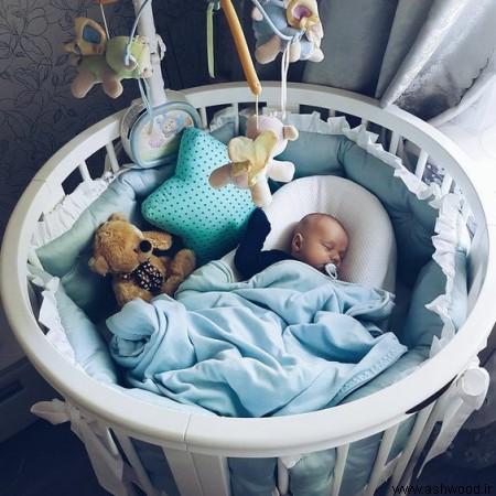 ساخت تخت خواب نوزاد و کودک و نوجوان در طرح های خاص و منحصر به فرد