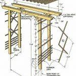 تاب چوبی فضای باز