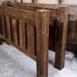 صنایع چوب و دکوراسیون , نمونه کار تخت