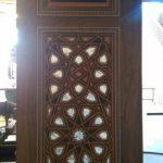 ساخت درب چوبی سبک اسلامی , گره چینی